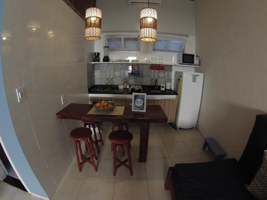 cozinha flat casinhas do morro de sao paulo
