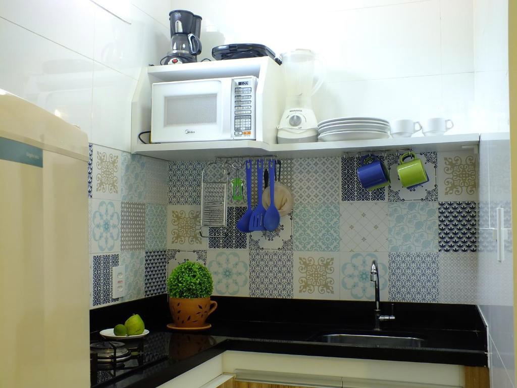 minicozinha flat casinhas do morro de sao paulo