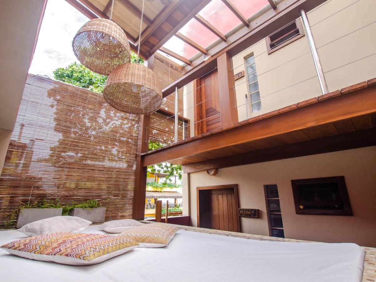 le terrace beach hotel em morro de sao paulo