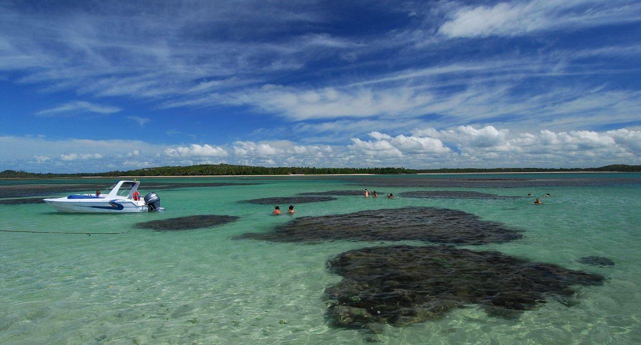 Piscinas naturais praia de garapuá