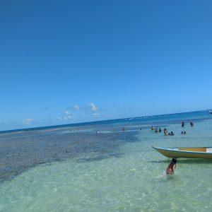 piscinas naturais no passeio volta a ilha