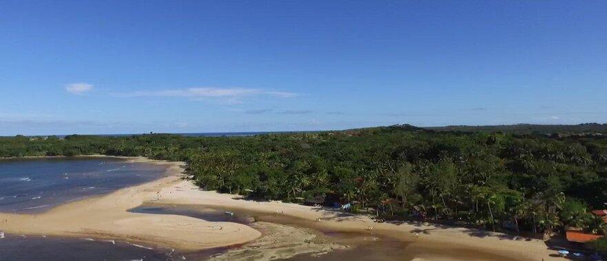 passeio quadriciclo ilha de Boipeba