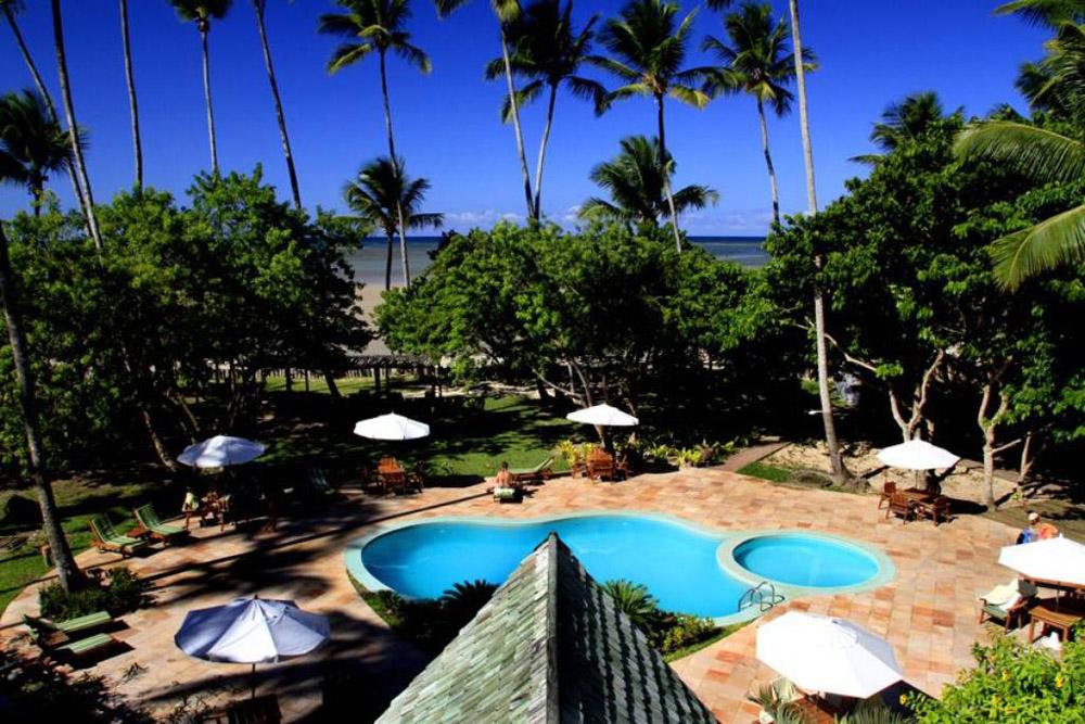 hotel anima piscina vista aerea