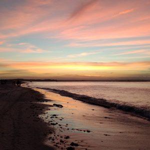 por do sol Gamboa ilha de Tinharé