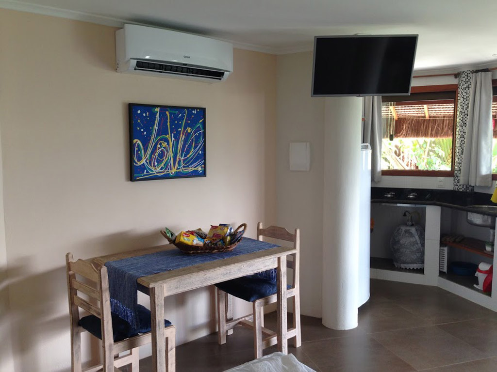 sala cozinha bangalo dos sonhos