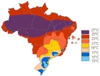 temperatura anual Morro de São Paulo
