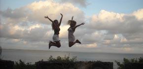 alegre en Morro de San Pablo