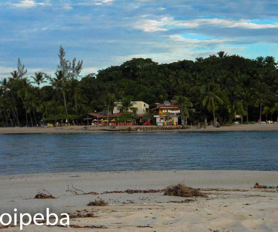 boca da barra ilha de Boipeba bahia