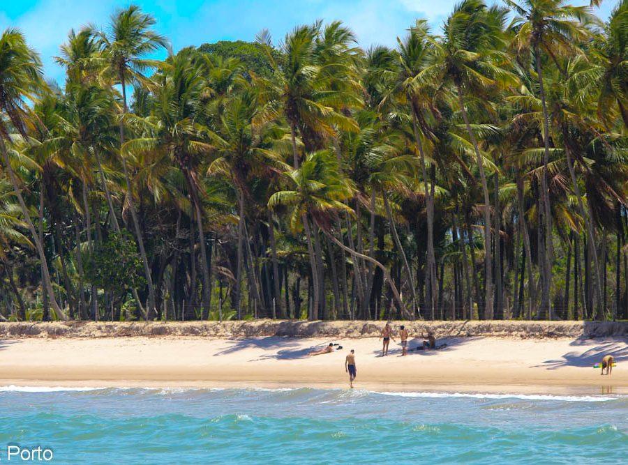 praia da cueira ilha de Boipeba