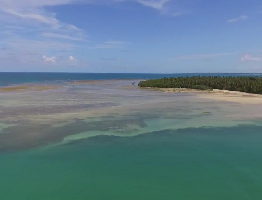 praia de garapua em morro de sao paulo