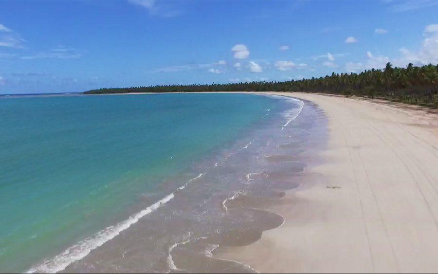 praia de Garapua Bahia