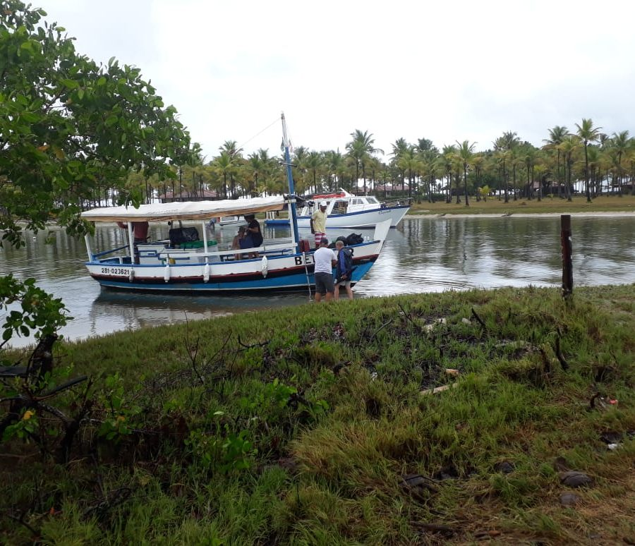 travessia ilhas de tinhare Boipeba