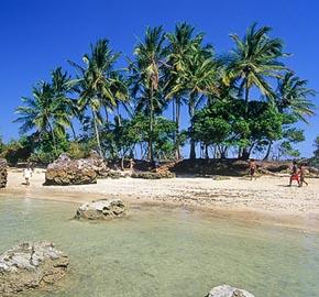 A ilha da saudade da Segunda praia de Morro de São Paulo