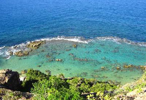 Praia do Porto de Cima, Praia da Ponta da Pedra e Prainha do Forte
