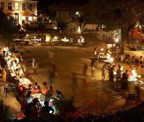 feira artesanato na praça da vila