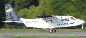 Aerostar - taxi aéreo para Boipeba via Morro de São Paulo
