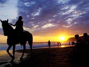 Cavalgada em Boipeba
