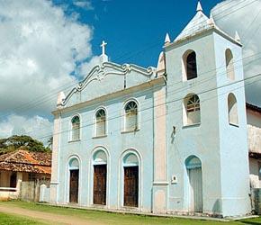 Igreja de São Sebastião em Boipeba
