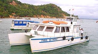 Catamaran Farol do Morro de São Paulo - Shuttle by the sea