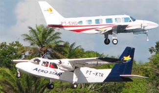 How to get to Morro de São Paulo by air shuttle