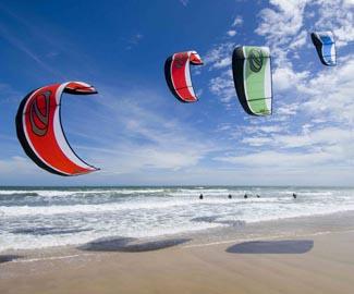 Kite surf em Morro de São Paulo