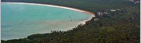 Foto aérea de garapuá