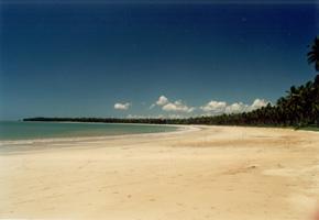 A Praia de garapuá