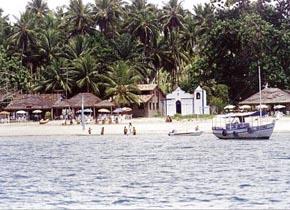 Vilarejo antigo de Garapuá