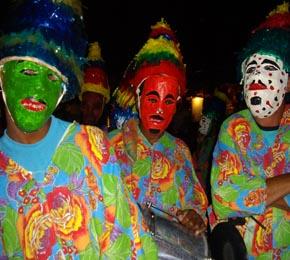 Grupo folclórico de Morro de São Paulo