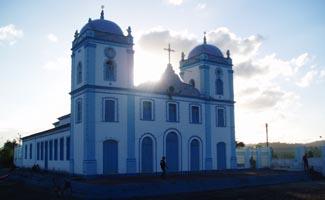 A Igreja no alto do Amparo de Valença