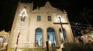 A Igreja Nossa Senhora da Luz de Morro de São Paulo
