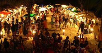 The Luau at the Second Beach of Morro de São Paulo