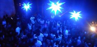 Fiesta en la Disco Pulsar de Morro de Sao Paulo