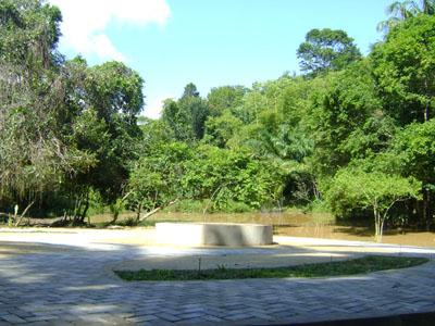 Ângulo diferente da pracinha em Morro de São Paulo